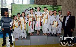В Кривом Роге состоялся открытый турнир по каратэ