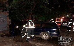 Ночью в Кривом Роге сгорел Volkswagen Passat