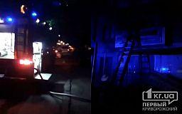 Поздней ночью в жилом многоквартирном доме произошел пожар