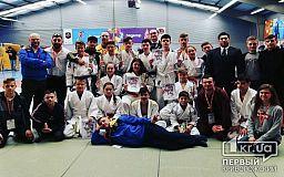 Криворожские спортсмены в составе сборной Украины по джиу-джитсу завоевали медали на чемпионате Европы