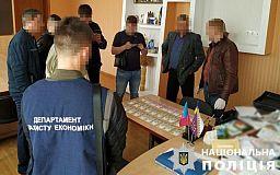 Криворожские правоохранители задержали главу райсовета при получении отката