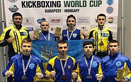 Кикбоксеры из Кривого Рога завоевали медали на Кубке мира