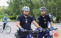 На улицы Кривого Рога снова выехали велопатрули