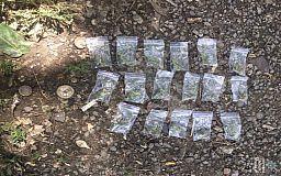 Криворожские велопатрульные задержали мужчину с наркотиками