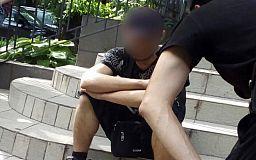 Криворожанин испугался полицейских велопатруля и выбросил под ноги наркотики