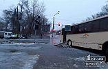Движение трамваев на участке ДТП в Кривом Роге возобновлено