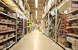 В Кривом Роге горел строительно-хозяйственный супермаркет