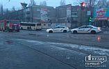 Занесло на скользкой дороге, - версия ДТП АрселорМиттал Кривой Рог