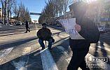Сокращены 16 маршрутов, жители Кривого Рога снова собираются на митинг