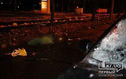 В Кривом Роге авто насмерть сбило пенсионера, перебегавшего дорогу в неположенном месте