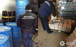 Правоохранители прекратили деятельность подпольного цеха по изготовлению алкоголя в Днепропетровской области
