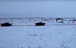 В криворожской танковой бригаде состоялись учения