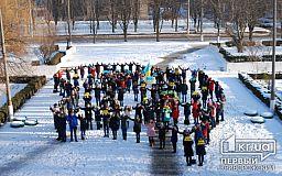 Криворізькі студенти напередодні Дня Соборності розпочали акцію «На віки разом»