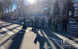 Без инцидентов прошла акция криворожан против повышения стоимости проезда в маршрутках, - полиция