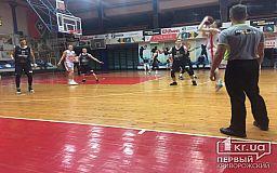 Блестящая победа криворожских баскетболистов в матче против команды из Кременчуга