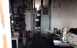 Пенсионер погиб во время пожара в частном доме недалеко от Кривого Рога