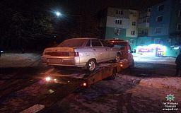 Криворожские патрульные задержали вероятного угонщика автомобиля
