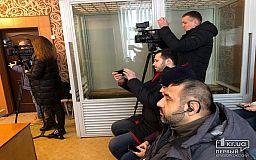 Дело раненого оператора передали криворожскому судье Попову, рассмотрение продолжат в марте