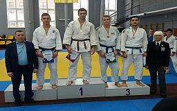 Спортсмены из Кривого Рога заняли призовые места на чемпионате по дзюдо в Днепре
