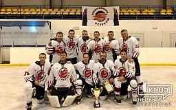Хоккеисты из Кривого Рога стали бесспорными победителями Всеукраинских соревнований