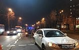 Тройное ДТП случилось на центральном проспекте Кривого Рога