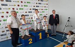 Криворожские каратисты заняли первое место на Кубке Украины