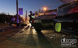 ДТП в Кривом Роге: два человека пострадали в результате аварии на Заречном (Обновлено)