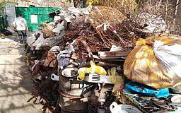 Почти 4 тонны металлолома изъяли криворожские правоохранители из незаконного пункта