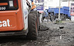 В Кривом Роге мотоциклиста, который наехал на рабочего во время ремонта дороги, будут судить