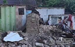 В селе недалеко от Кривого Рога женщина пострадала во время пожара