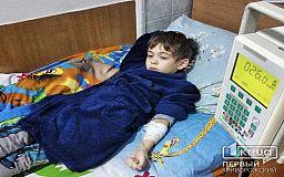 7-летний криворожанин мечтает о жизни без капельниц, маски и страха, что завтра он может не проснуться