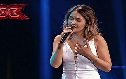 Криворожанка исполнила песню Софии Ротару на сцене шоу «Х-фактор»