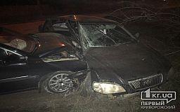 ДТП в Кривом Роге: в результате столкновения автомобили «выкинуло» на обочину
