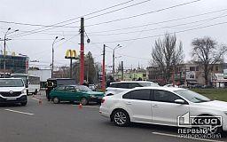 ДТП на 95 квартале в Кривом Роге: столкнулись два внедорожника и легковушка