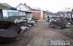 18 тонн металлолома криворожские правоохранители обнаружили на территории частного домовладения