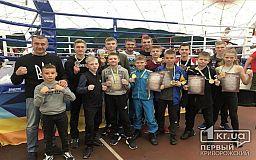 Криворожские кикбоксеры завоевали медали на Кубке Украины