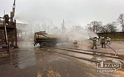 Утечку аммиака на АрселорМиттал Кривой Рог спасатели ликвидировали в рамках учений