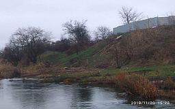 В криворожскую реку сливают канализационную воду