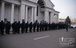 На проспекте Почтовом заступили на службу почти сто нацгвардейцев