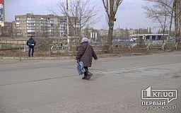 За октябрь криворожские пешеходы 596 раз нарушили правила дорожного движения, - официально