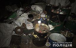 В селе под Кривым Рогом правоохранители прекратили работу незаконного пункта приема металлолома
