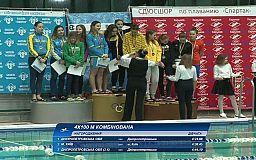 Криворожские пловцы взяли золотые, серебряные и бронзовые медали на чемпионате Украины
