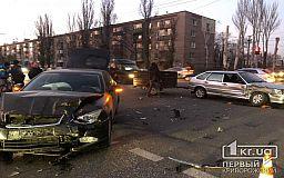 В месте концентрации ДТП в Кривом Роге снова авария