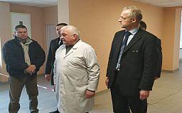 В криворожской больнице №10 вскоре закончат капитальный ремонт травматологического отделения