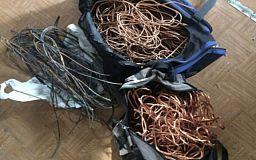 Криворожские полицейские разоблачили серийного вора кабеля компании «Укртелеком»