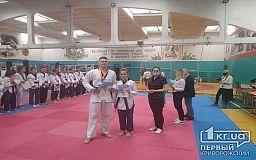 Криворожане заняли призовые места на областном турнире по тхэквондо