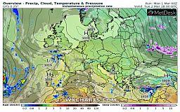 Весна дебютирует порывистым ветром: прогноз погоды на март в Украине