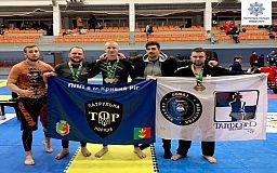 Патрульные из Кривого Рога заняли призовые места на турнире по джиу-джитсу