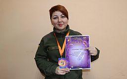 Гвардійка криворізької бригади стала лауреаткою пісенного конкурсу
