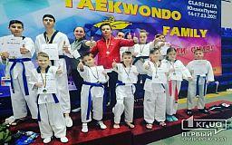 Криворіжці посіли призові місця на Чемпіонаті України по тхеквондо